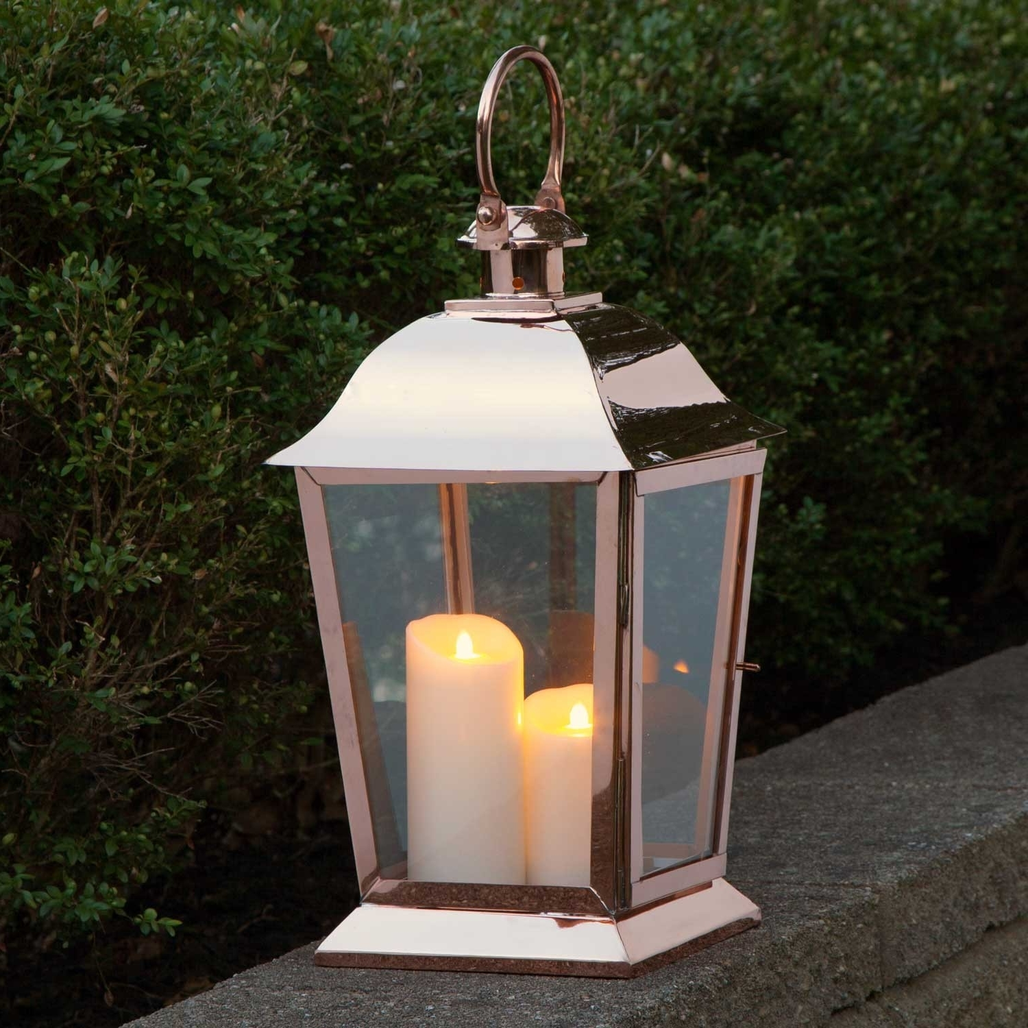 Pier One Lanterns Hanging With Candles Large Outdoor Rustic For Throughout Preferred Inexpensive Outdoor Lanterns (View 10 of 20)