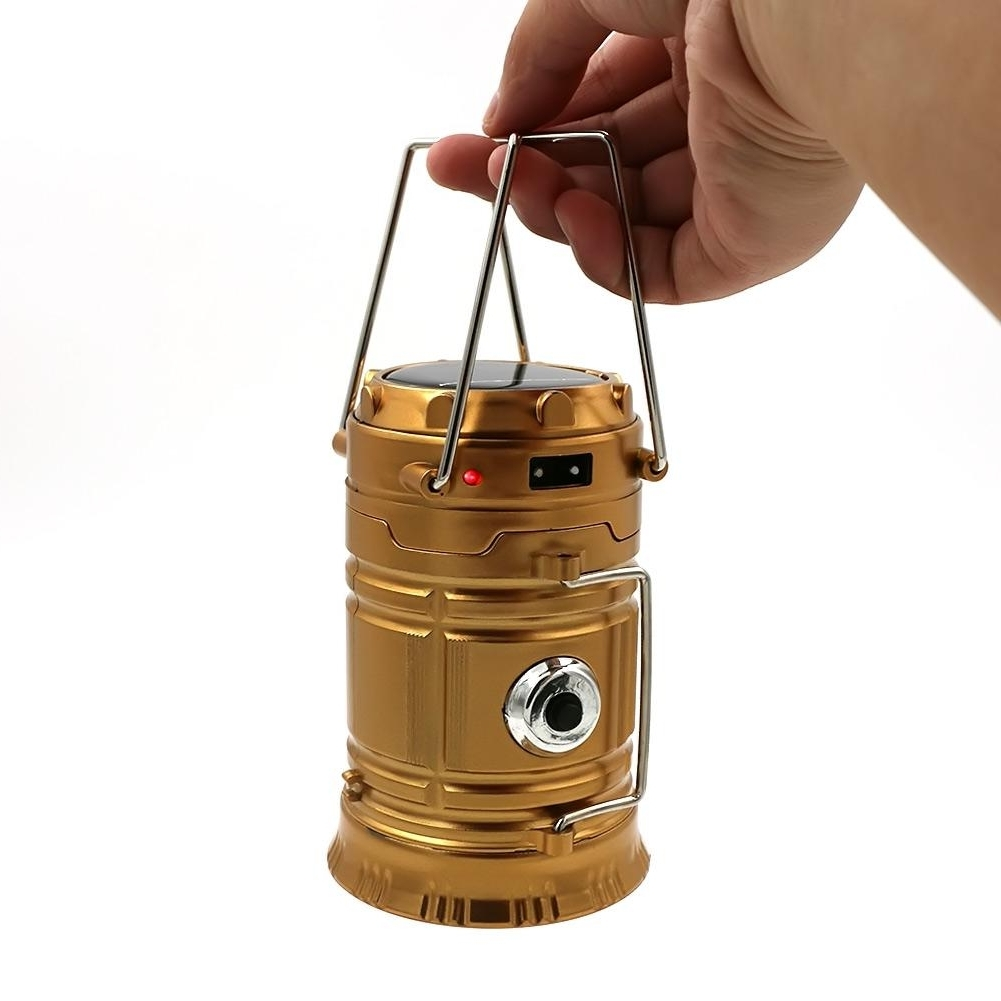 Plug In Outdoor Lanterns In Trendy Classic Style Leds Rechargeable Hand Lamp Collapsible Solar Camping (View 20 of 20)