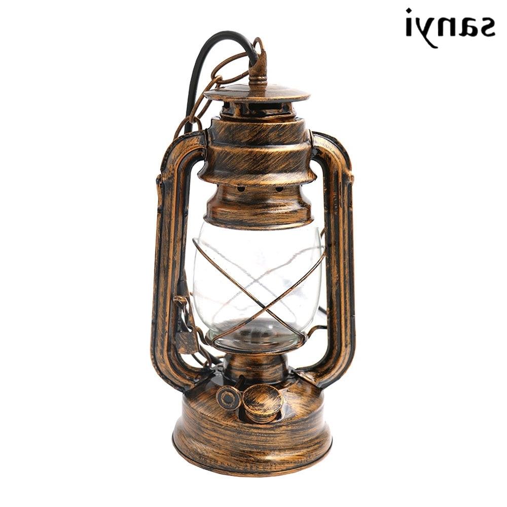 Popular Antique Bronze Color Europe Retro Classic Kerosene Lantern Emergency Intended For Outdoor Kerosene Lanterns (View 13 of 20)