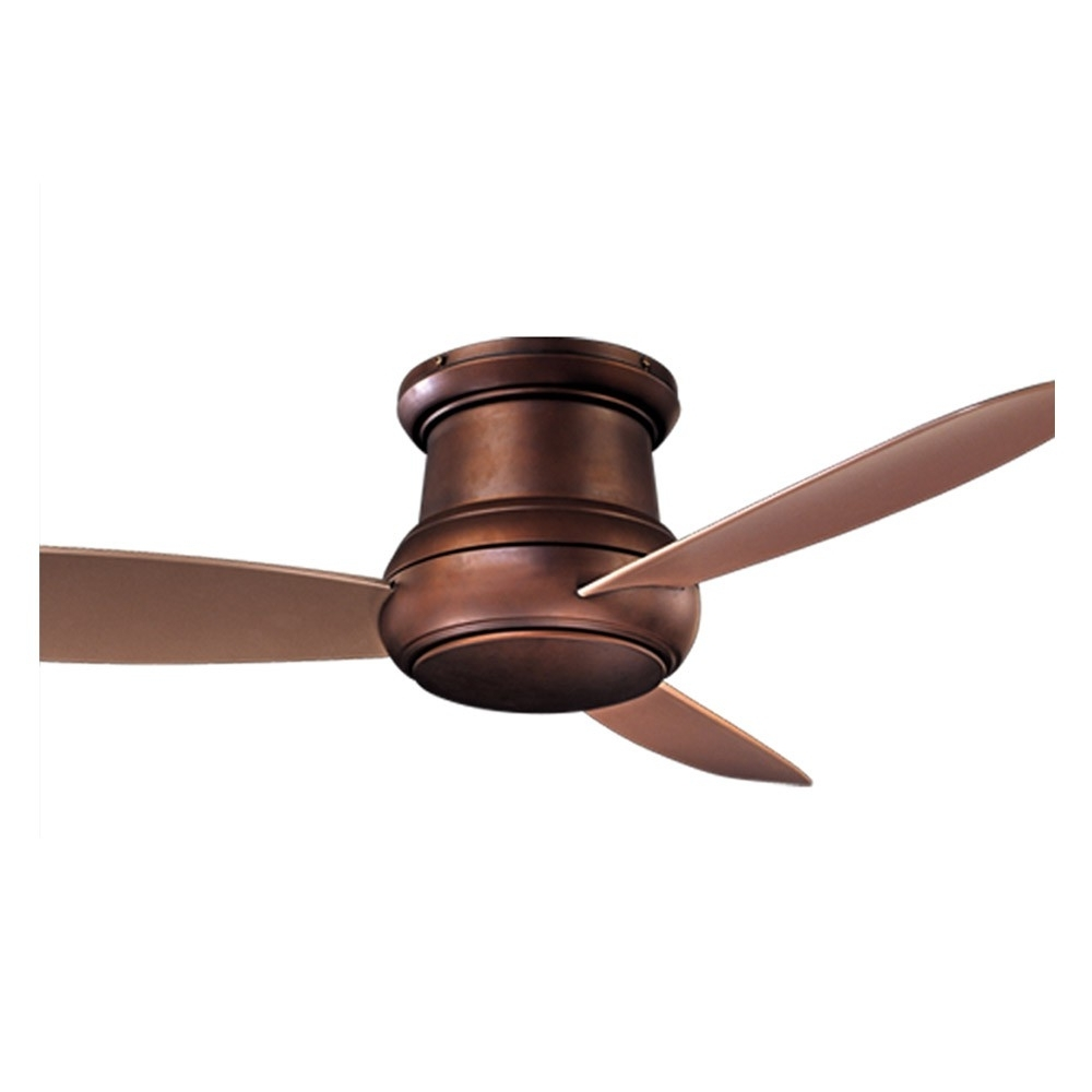 Popular Copper Outdoor Ceiling Fans Intended For Concept Ii Wet Ceiling Fanminka Aire – F474l Orb Oil Rubbed (View 7 of 20)