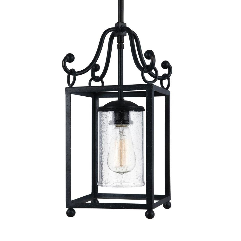 Popular Feiss Declaration Light Antique Forged Iron Wall Sconce Pendant Regarding Colorful Outdoor Lanterns (View 12 of 20)