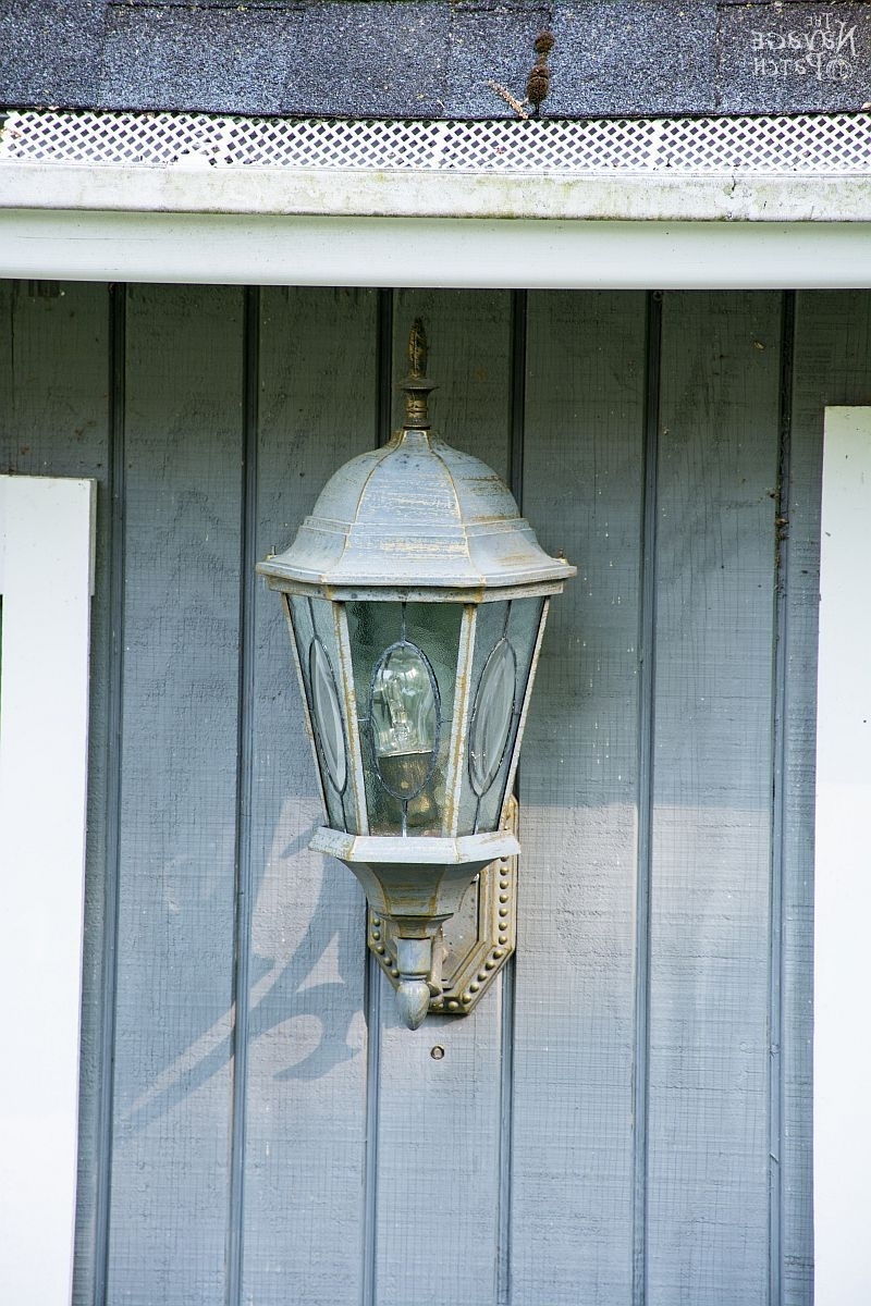 Popular How To Add A Light Sensor To Outdoor Lanterns – The Navage Patch Intended For Blue Outdoor Lanterns (Gallery 17 of 20)