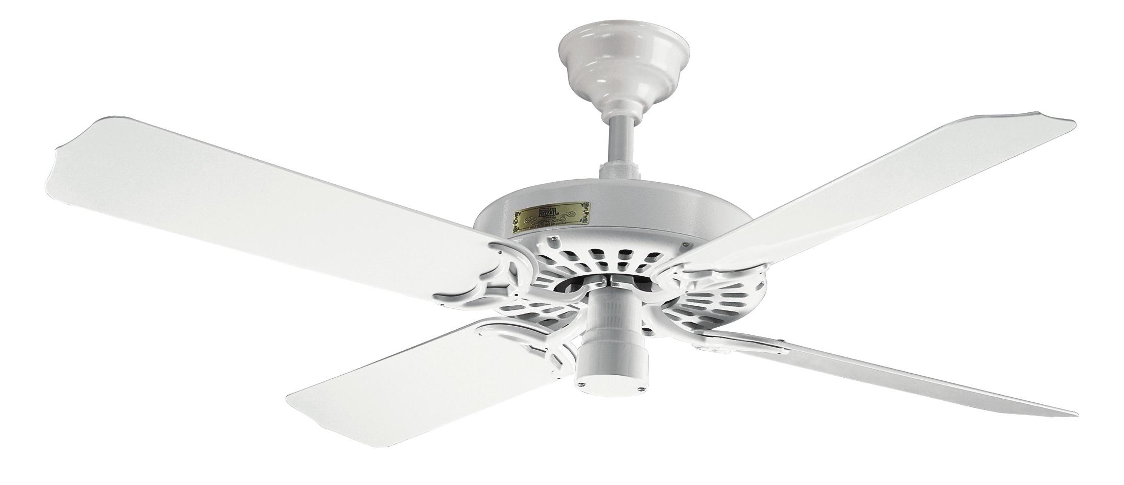 Popular Hunter Outdoor Original White Ceiling Fan 25602 In White, Best For White Outdoor Ceiling Fans With Lights (View 12 of 20)