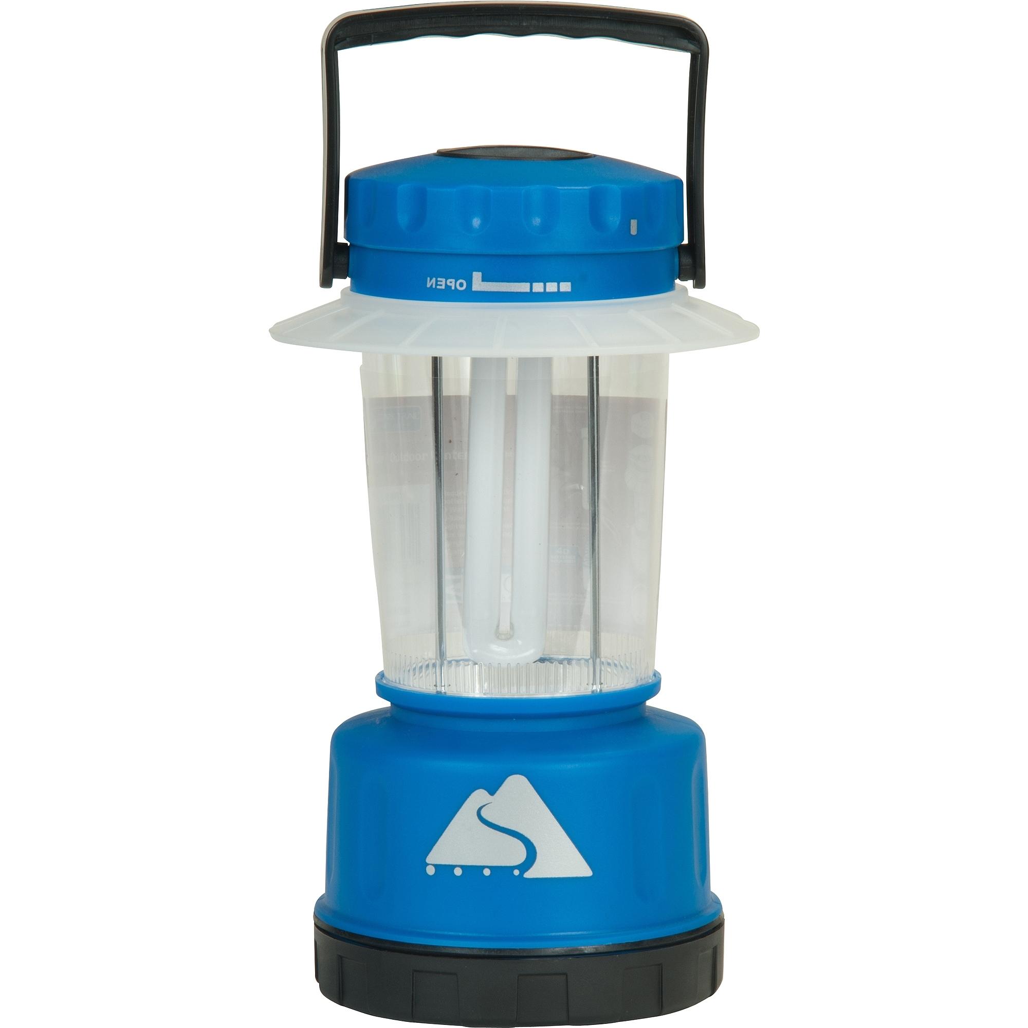 Popular Indoor Outdoor Lanterns In Ozark Trail Indoor/outdoor Lantern, Blue – Walmart (View 15 of 20)