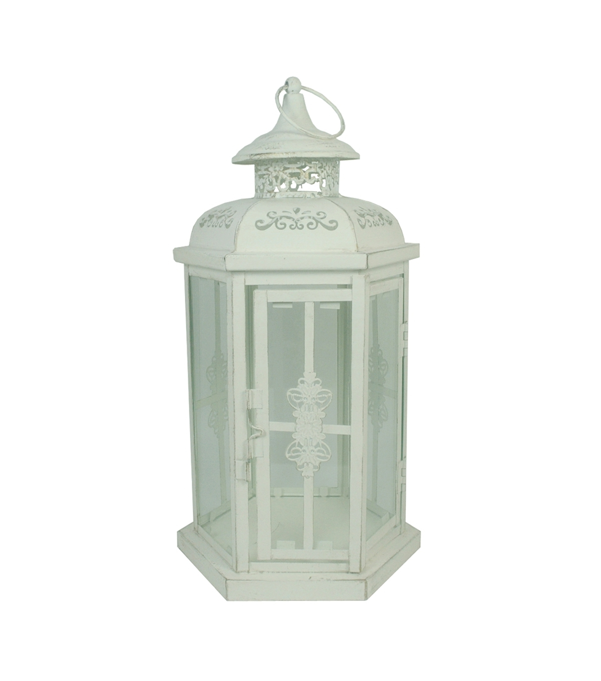 Popular Joanns Outdoor Lanterns Intended For Hudson 43 Candle & Light Distressed Metal Lantern (View 6 of 20)