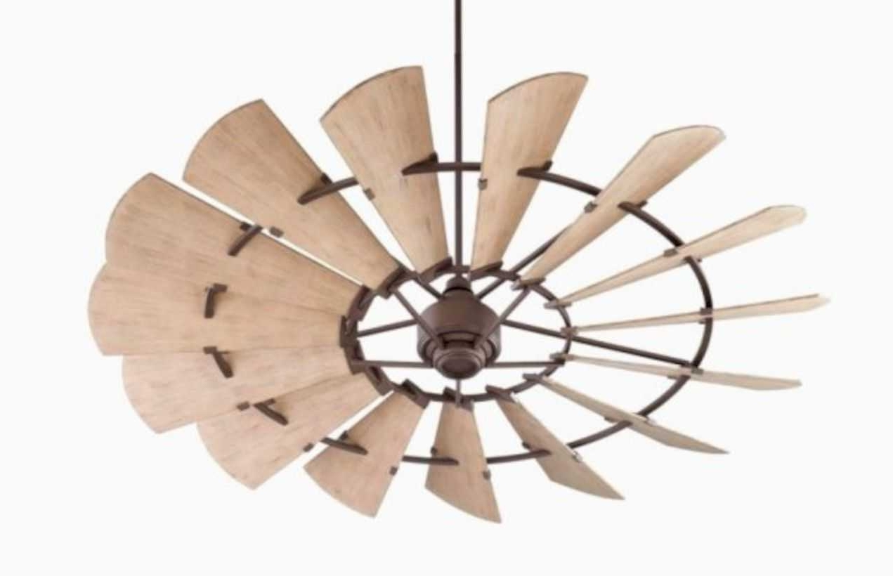 Popular Outdoor Ceiling Fans For Wet Locations Within Inspiring Modern Rustic Collection And Enchanting Looking Outdoor (View 15 of 20)