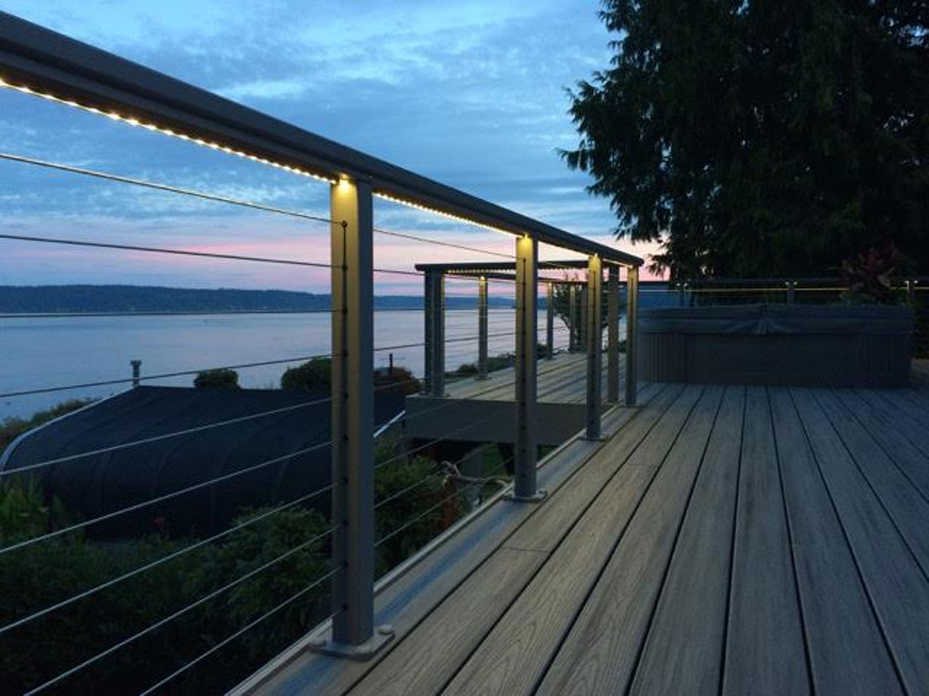 Popular Outdoor Deck Lighting With Hydrolume Elemental Led Effective 1333 Regarding Outdoor Deck Lanterns (View 17 of 20)