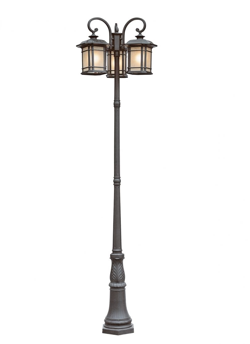 Popular Outdoor Lanterns For Posts In Lamp Post Top Lanterns Outside Pole Lights Pole Lanterns Outdoor Led (View 16 of 20)