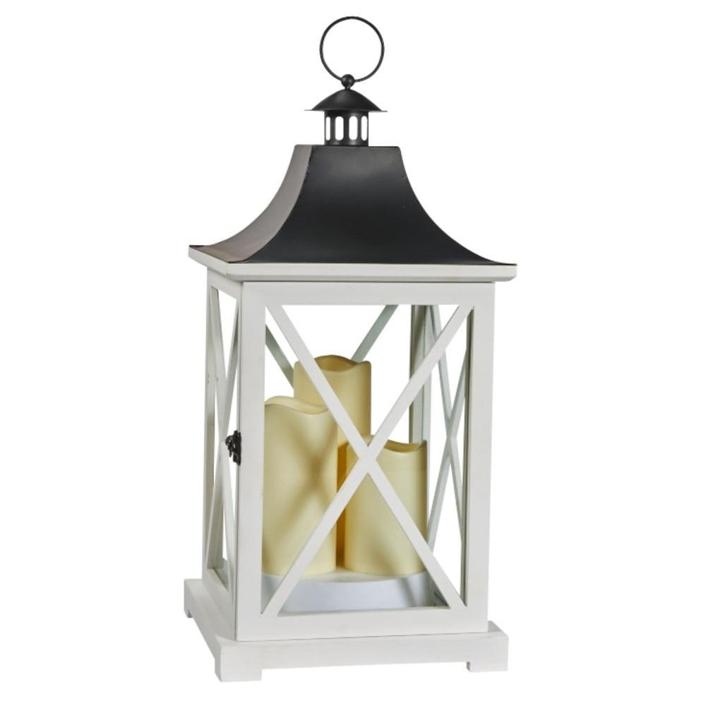 Popular Outdoor Lanterns With Led Candles For Smart Solar York 20 In (View 17 of 20)