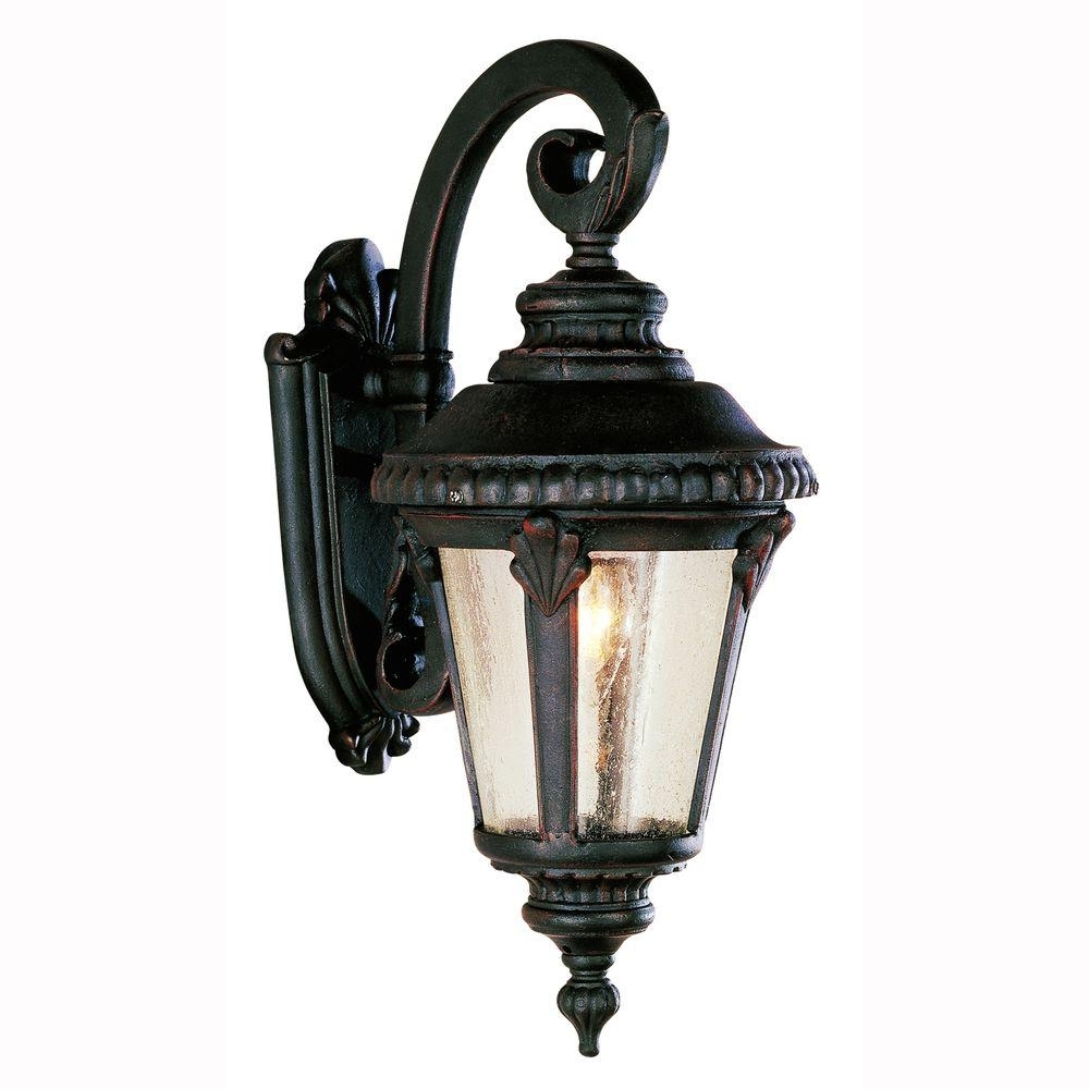 Popular Outdoor Sconces – Weather Resistant – Brown – Outdoor Wall Mounted Pertaining To Outdoor Weather Resistant Lanterns (View 16 of 20)