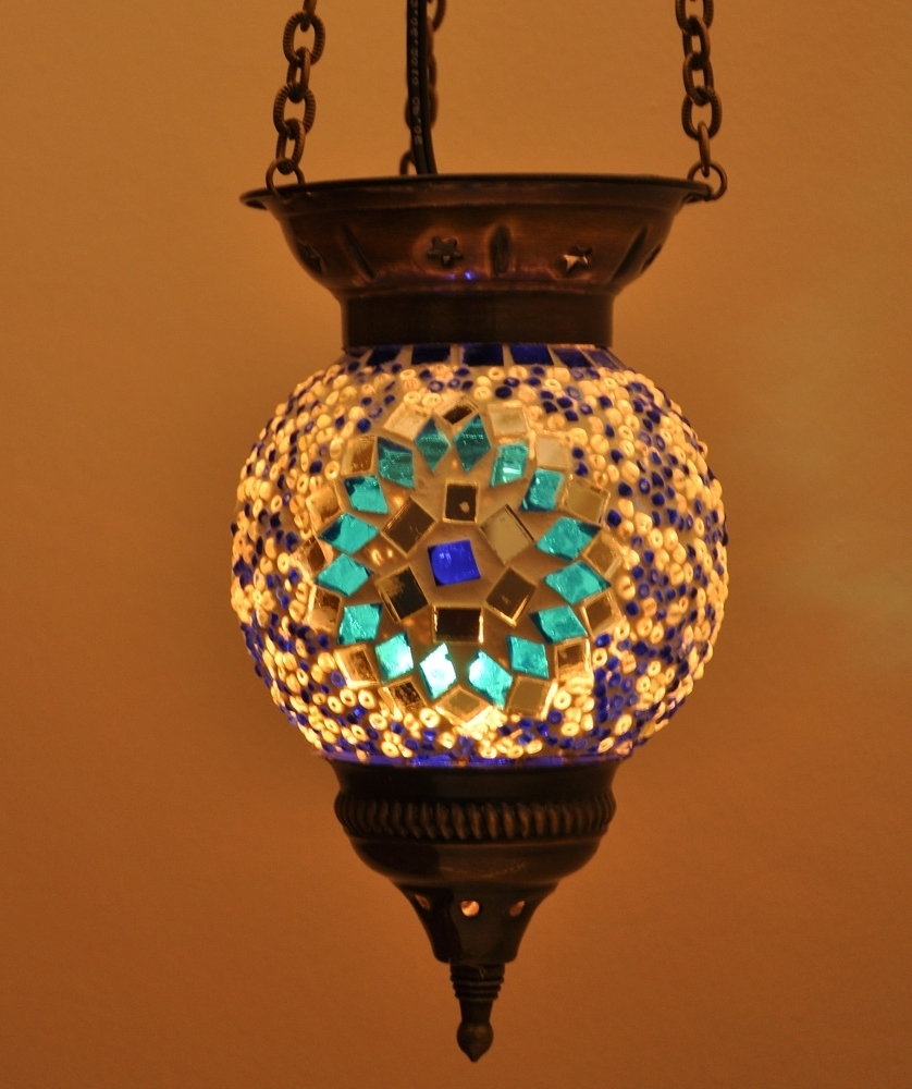 Popular Turkish Mosaic Lamps – 10 Reasons To Buy! (View 16 of 20)