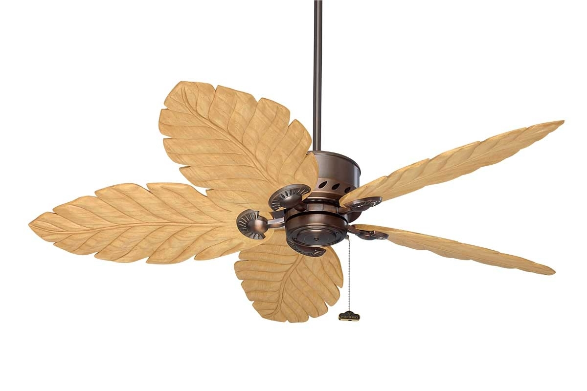 Popular Wicker Outdoor Ceiling Fans In Fansunlimited – The Emerson Maui Bay Series (View 8 of 20)