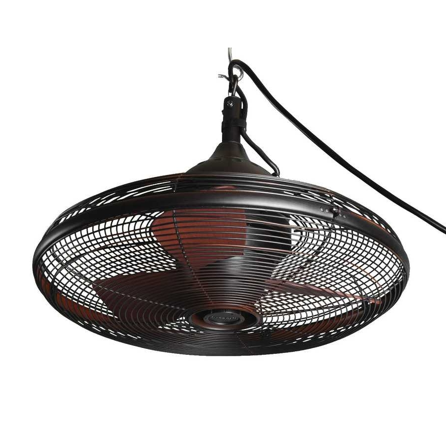Preferred Allen Roth Valdosta In Oil Collection With Beautiful Small Outdoor Throughout Mini Outdoor Ceiling Fans With Lights (View 16 of 20)