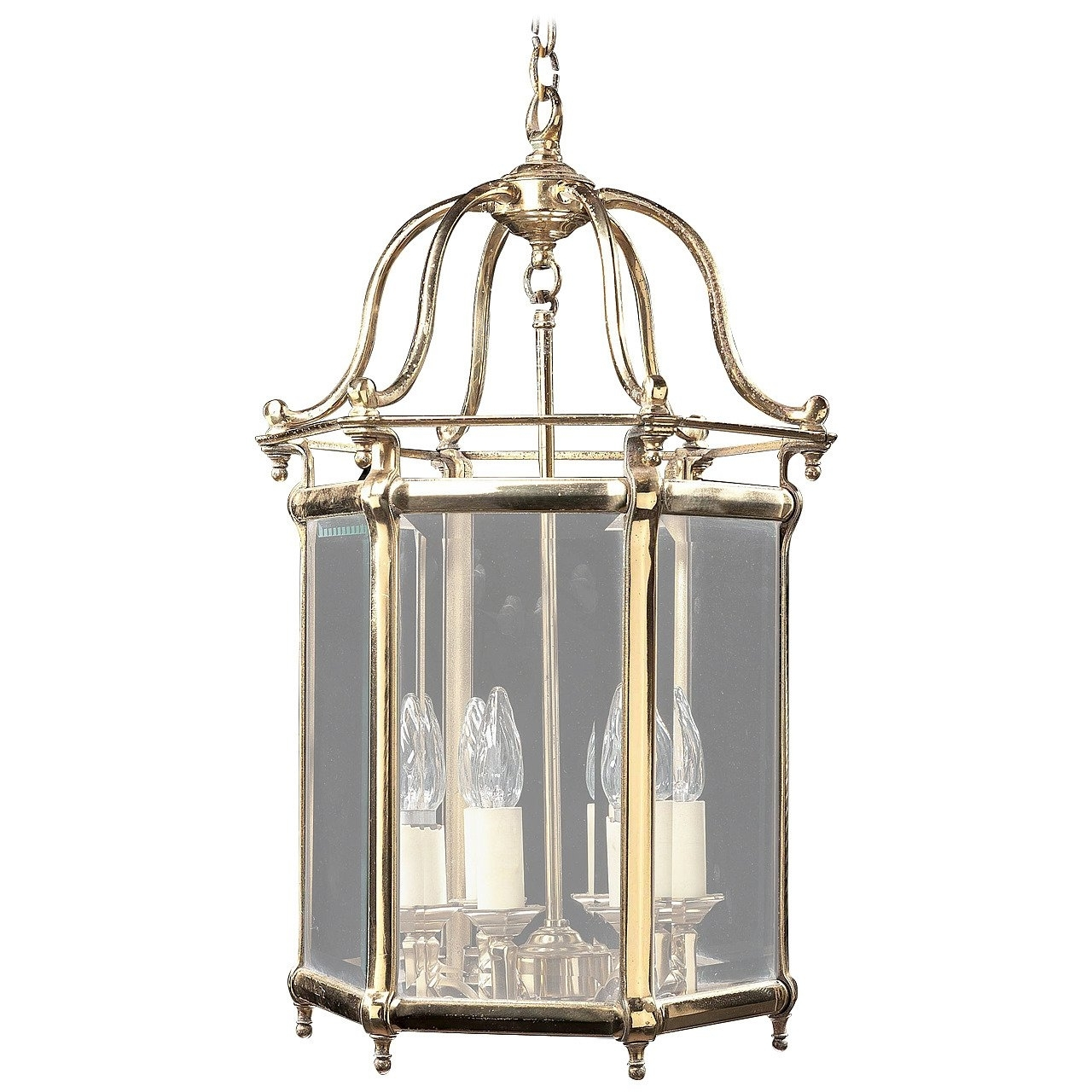 Preferred Brass Outdoor Lantern Porch Light Exterior Applique Sconce, 20Th Throughout Jumbo Outdoor Lanterns (View 19 of 20)