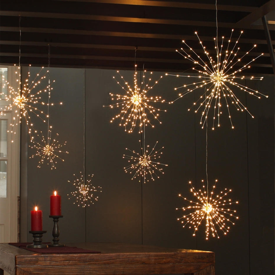 Preferred Buy Starburst Led Allium Outdoor Lights — The Worm That Turned Intended For Outdoor Mains Lanterns (View 15 of 20)