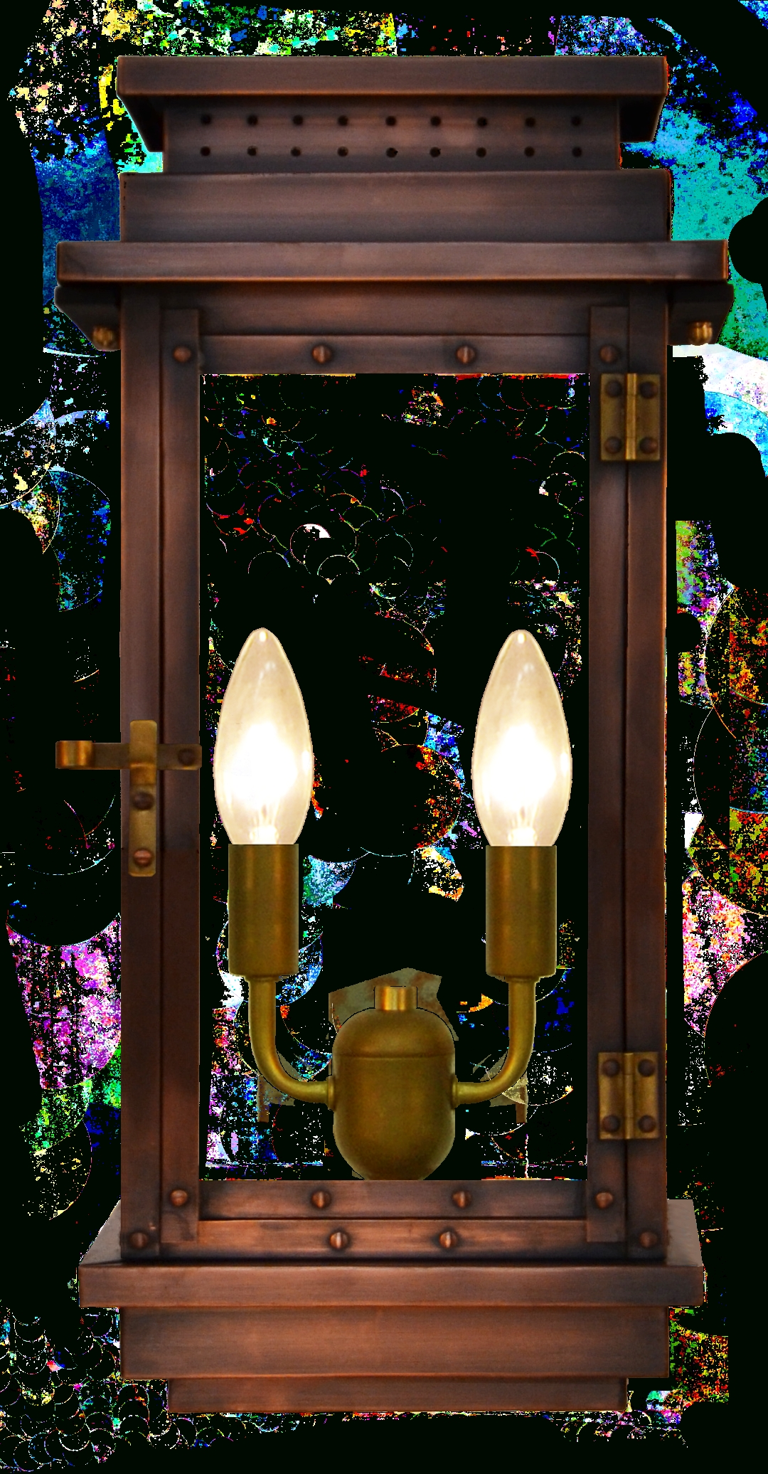 Preferred Contempo Gas Or Electric Copper Lantern – Outdoor Lighting & Lamps Pertaining To Copper Outdoor Electric Lanterns (View 8 of 20)
