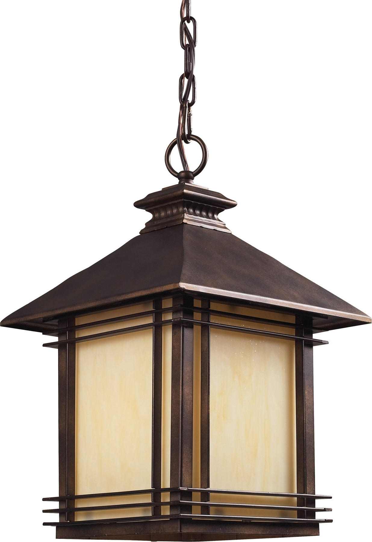 Preferred Elk Lighting 42103/1 Blackwell Outdoor Hanging Lantern Throughout Outdoor Hanging Lanterns (View 15 of 20)