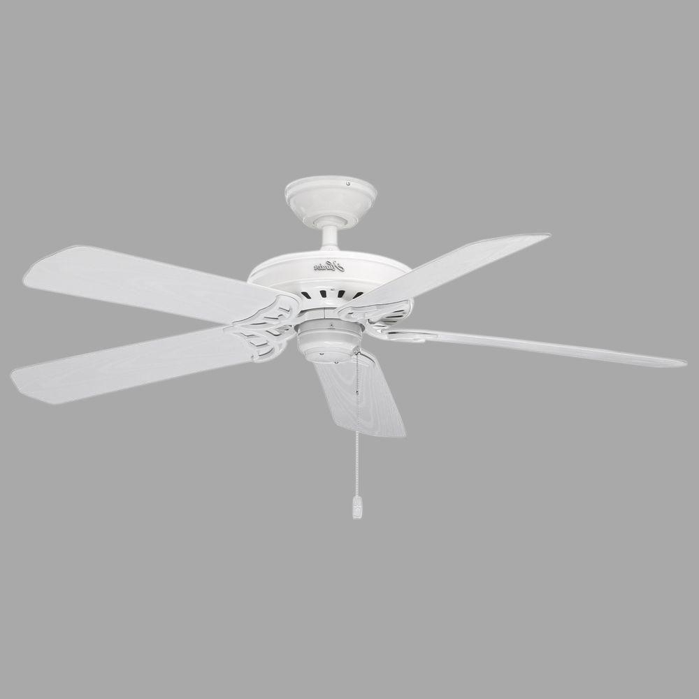 Featured Photo of Hunter Outdoor Ceiling Fans With White Lights