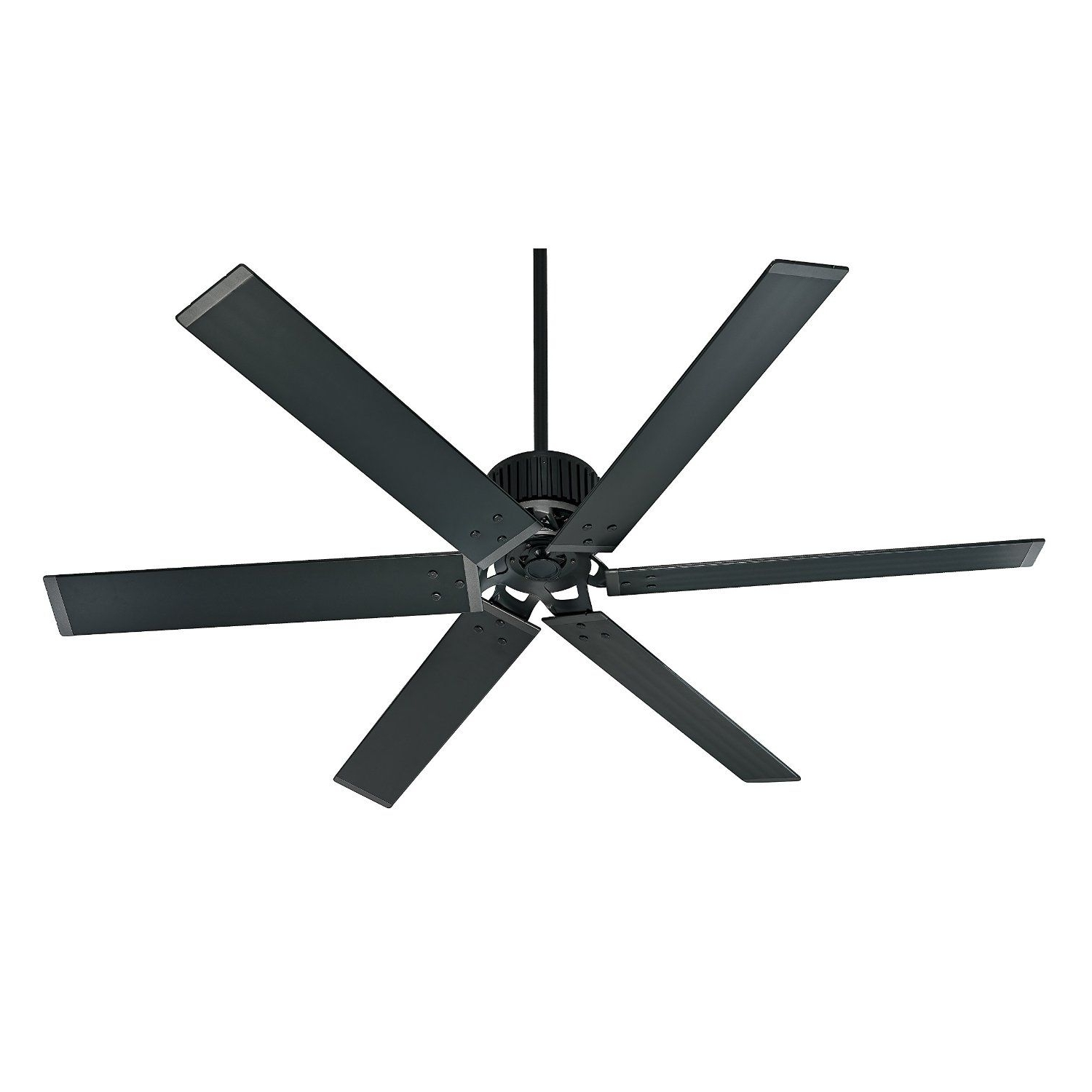 "Preferred Hunter Fan Company 59132 Industrial 96"" Ceiling Fan With 6 Aluminum Inside Outdoor Ceiling Fans With Aluminum Blades (View 14 of 20)"