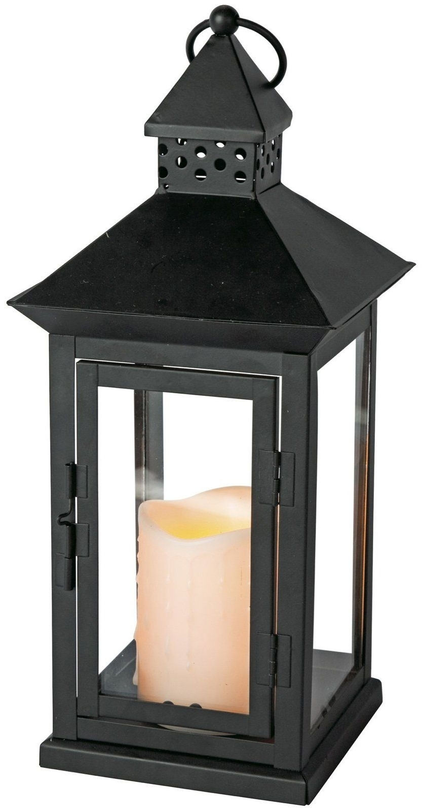 Preferred Indoor Outdoor Flameless Candle Lantern W/ Timer, 8.5 X  (View 14 of 20)