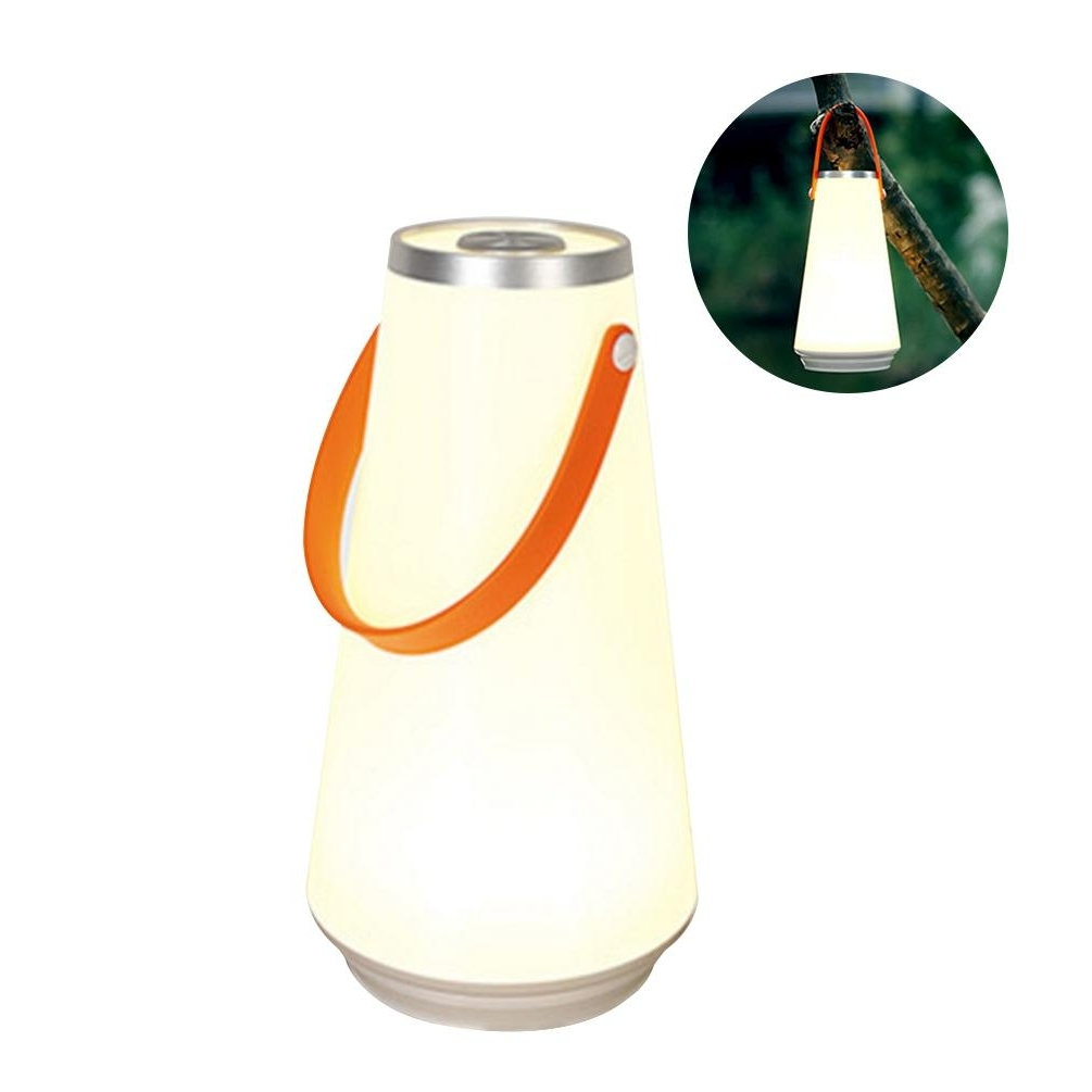 Preferred Ledgle 3W Led Lamp Rechargeable Lantern Wireless Outdoor Lamps Smart Within Outdoor Rechargeable Lanterns (Gallery 18 of 20)