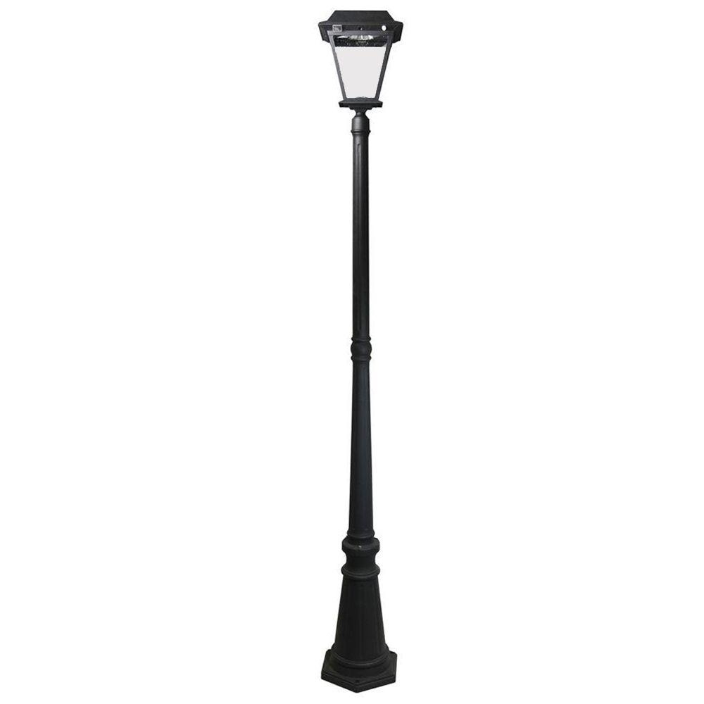 Preferred Outdoor Lanterns For Posts Pertaining To Post Lighting – Outdoor Lighting – The Home Depot (View 4 of 20)