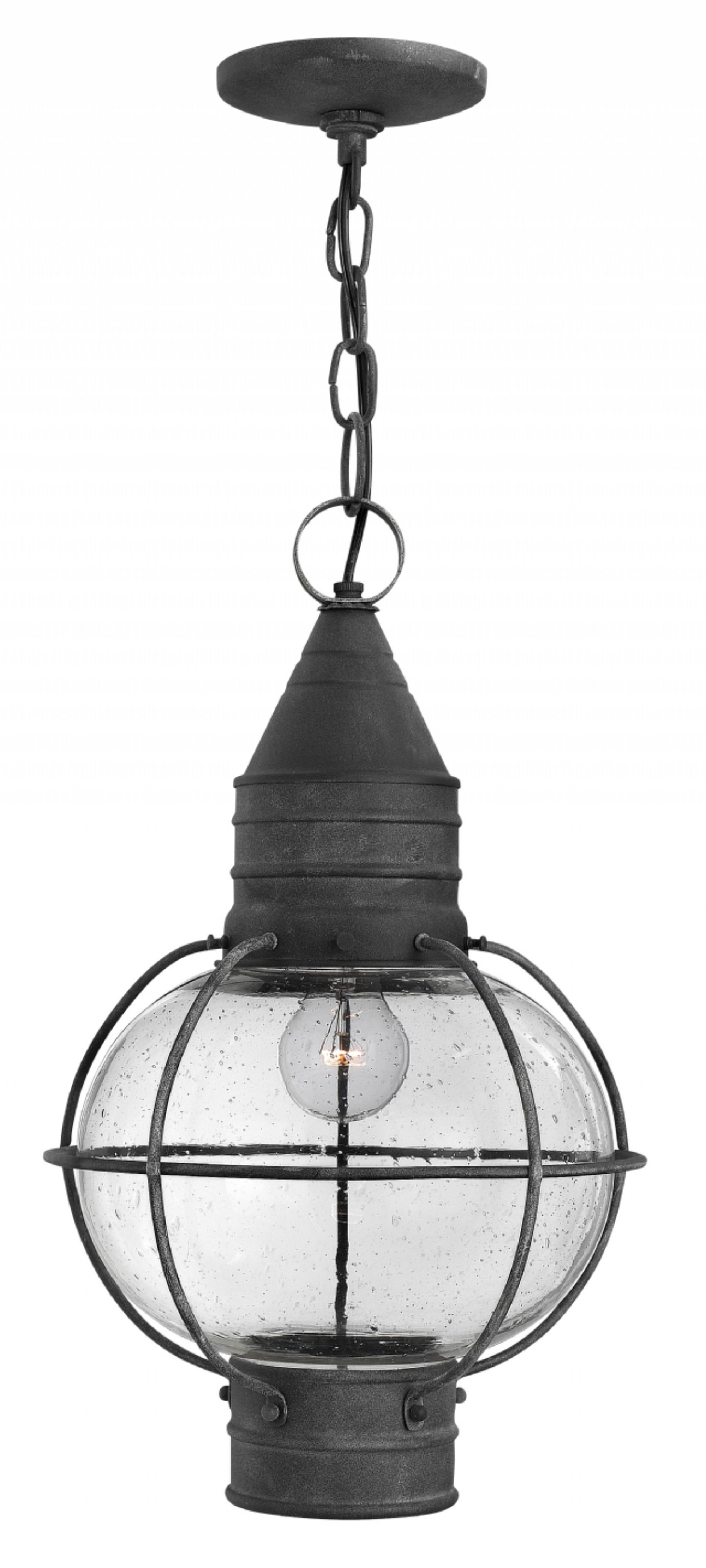 Preferred Outdoor Lighting Onion Lanterns In Aged Zinc Cape Cod > Exterior Ceiling Mount (Gallery 17 of 20)