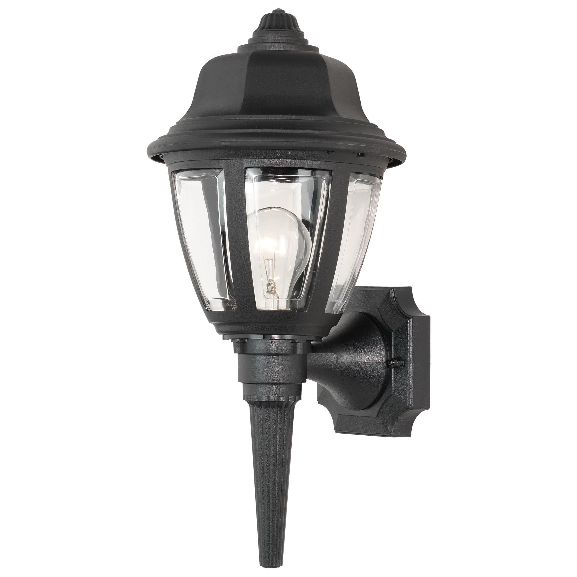 Preferred Plastic Lanterns Outdoor Lights Light Splendid Black Wall Lantern With Regard To Outdoor Plastic Lanterns (View 2 of 20)
