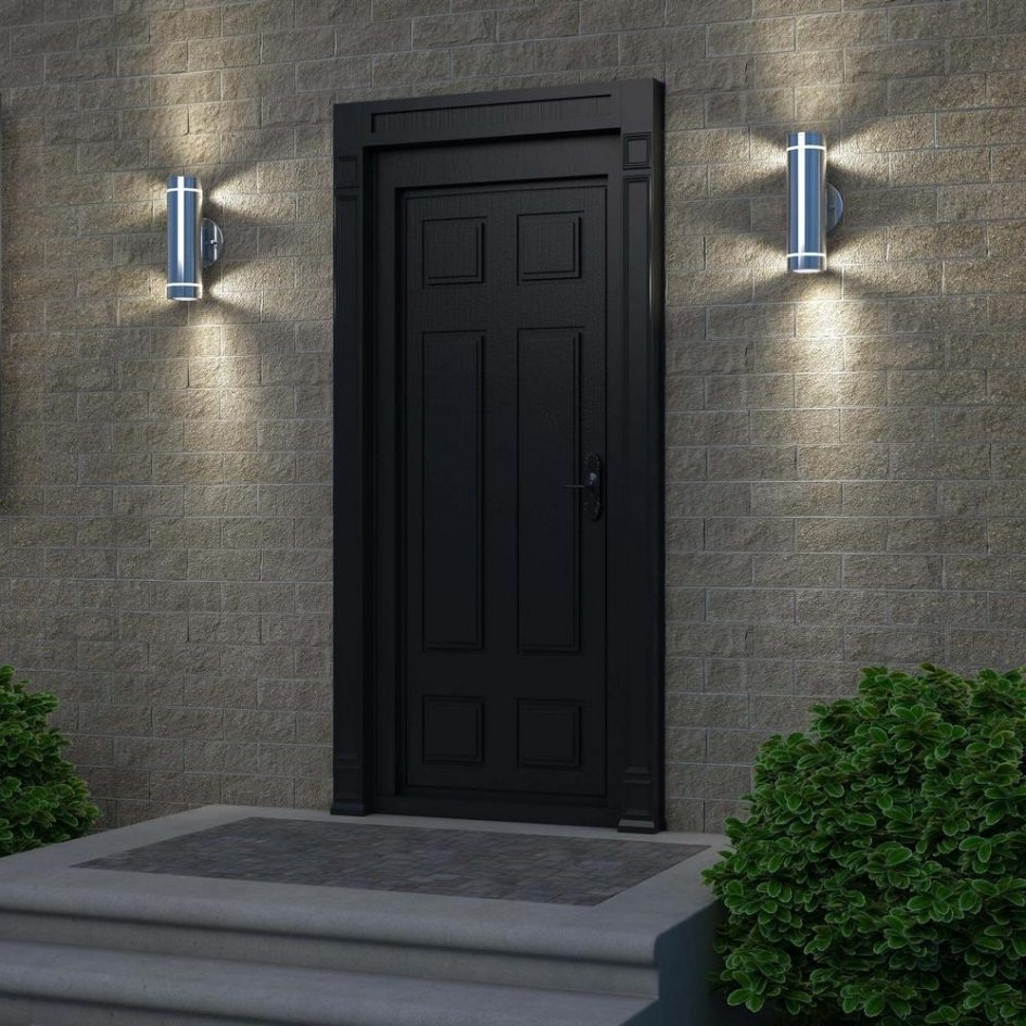 Prissy Wall Home Depot Lights Home Depot Cabinetslighting Wall Home With Best And Newest Outdoor Garage Lanterns (View 15 of 20)