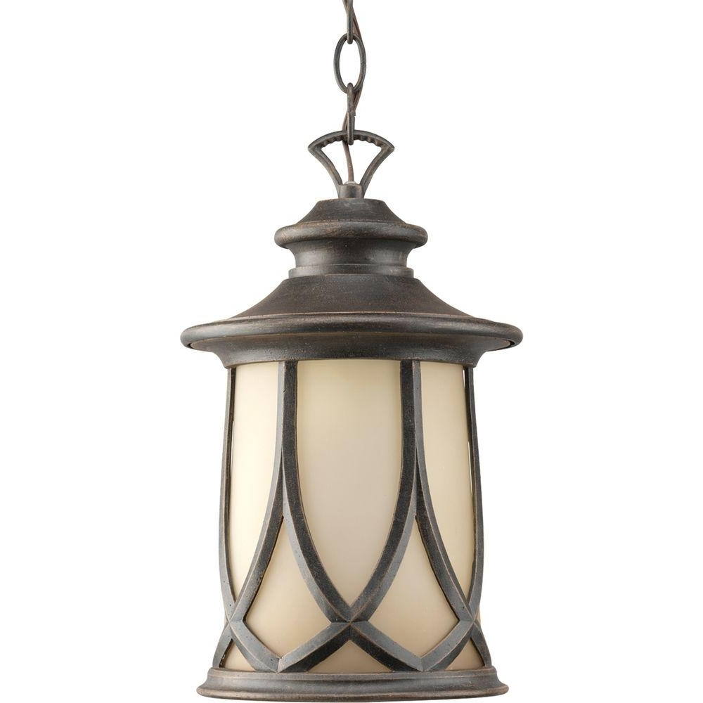 Progress Lighting Resort Collection 1 Light Aged Copper Outdoor Inside Famous Outdoor Hanging Lanterns (View 16 of 20)