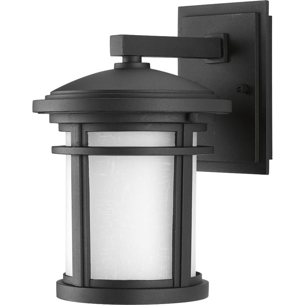 Progress Lighting Wish Collection 1 Light Outdoor 7 Inch Textured Inside Popular Outdoor Vinyl Lanterns (View 15 of 20)