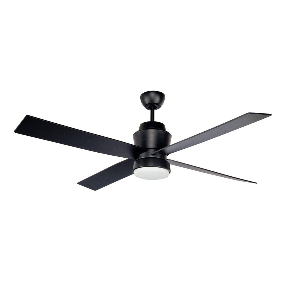 Prologue Outdoor Ceiling Fan :: Stori Modern For 2019 Black Outdoor Ceiling Fans With Light (View 8 of 20)