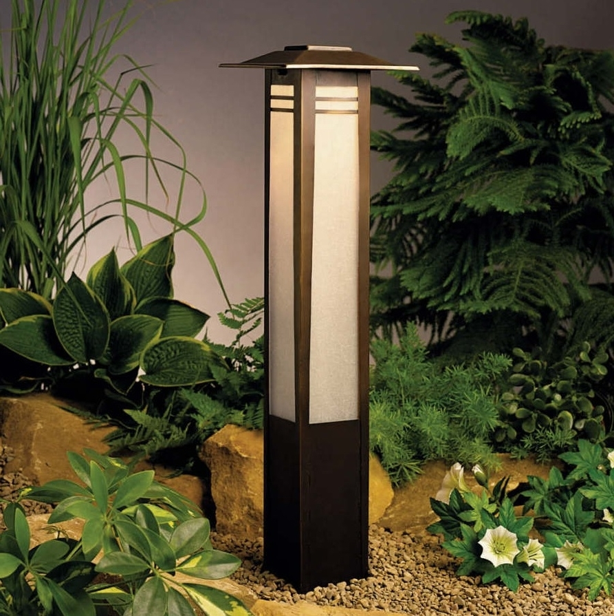 Protect Your Garden With Japanese Outdoor Lighting (Gallery 17 of 20)