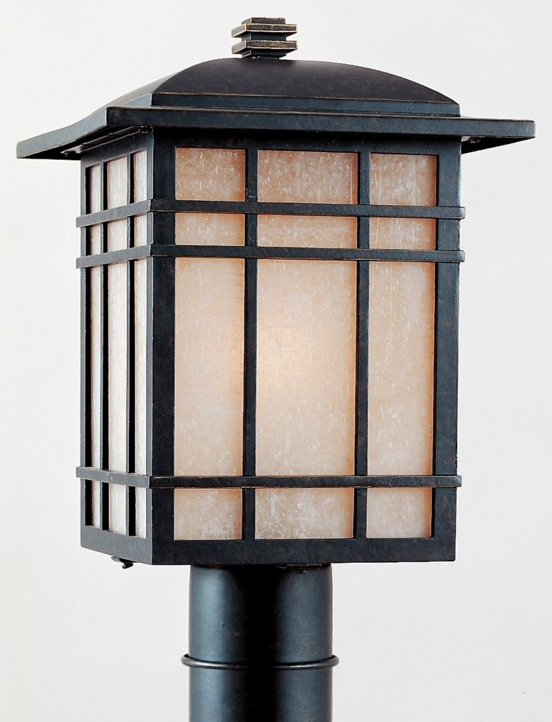 Quoizel Outdoor Lanterns In Recent Craftsman Style Outdoor Lighting Fixtures Lovely Outdoor Lighting (View 11 of 20)