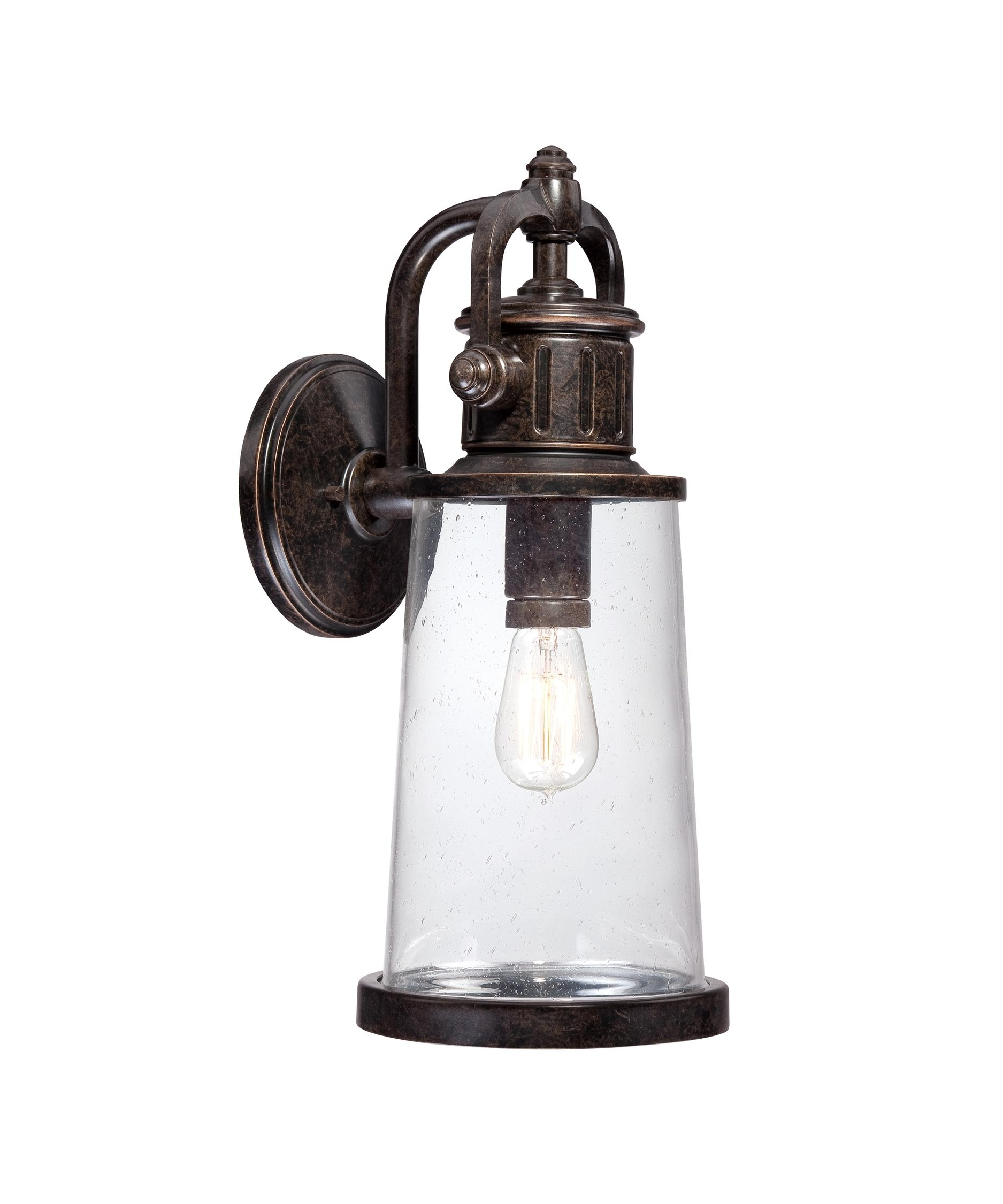Quoizel Outdoor Lanterns Throughout Newest Quoizel Sdn8408 Steadman 8 Inch Wide 1 Light Outdoor Wall Light (View 9 of 20)