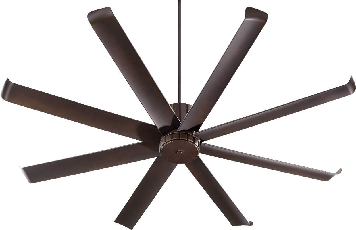 """Quorum Outdoor Ceiling Fans Inside Well Known Quorum International 196728 Proxima Patio 72"""" 8 Blade Hanging (Gallery 18 of 20)"""