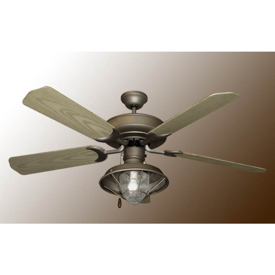 Raindance Outdoor Ceiling Fan, Gulf Coast Raindance, Ceiling Fan Inside Best And Newest Outdoor Ceiling Fans With Lantern Light (View 15 of 20)
