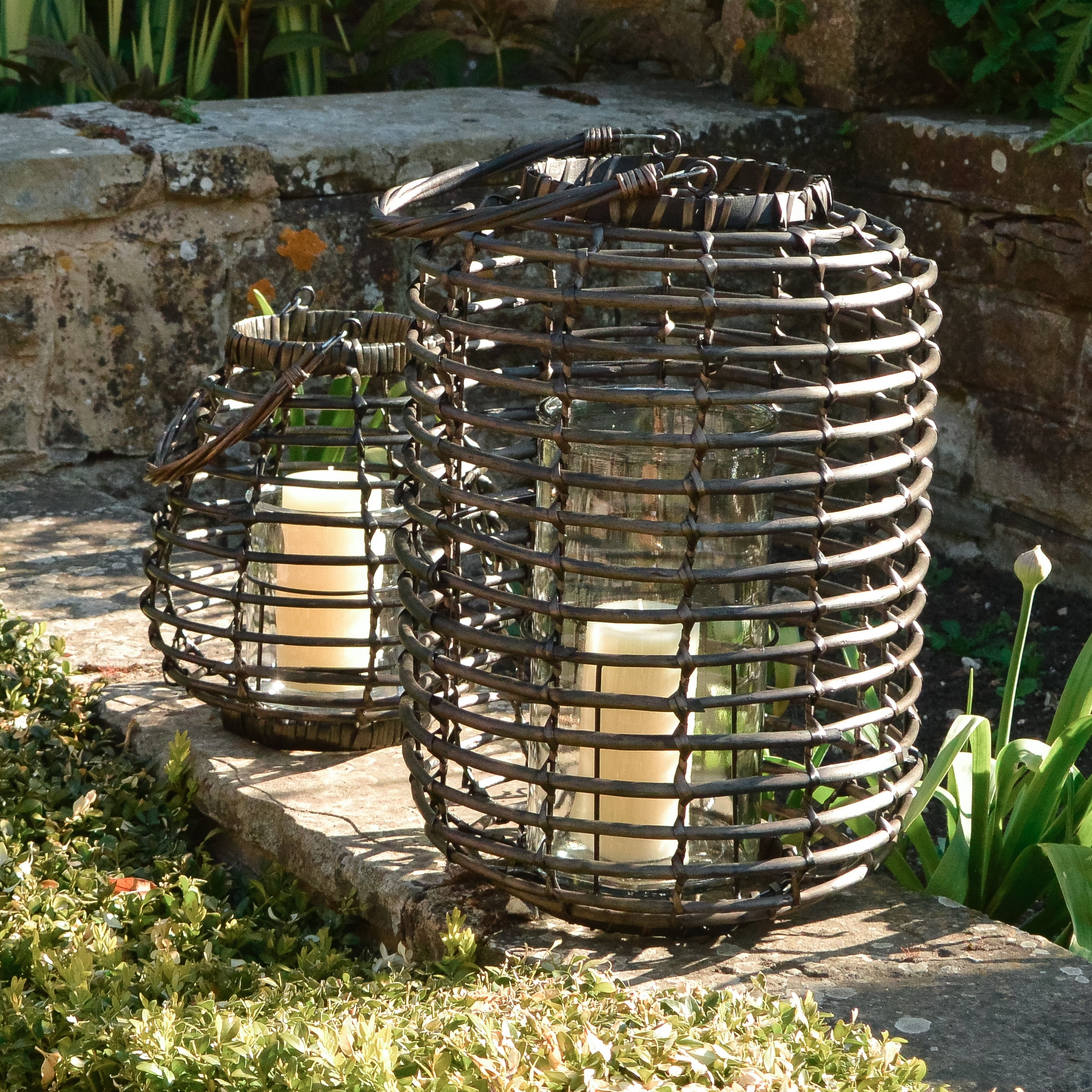 Rattan Outdoor Lanterns Ella James Inside Most Recently Released Outdoor Rattan Lanterns (View 15 of 20)