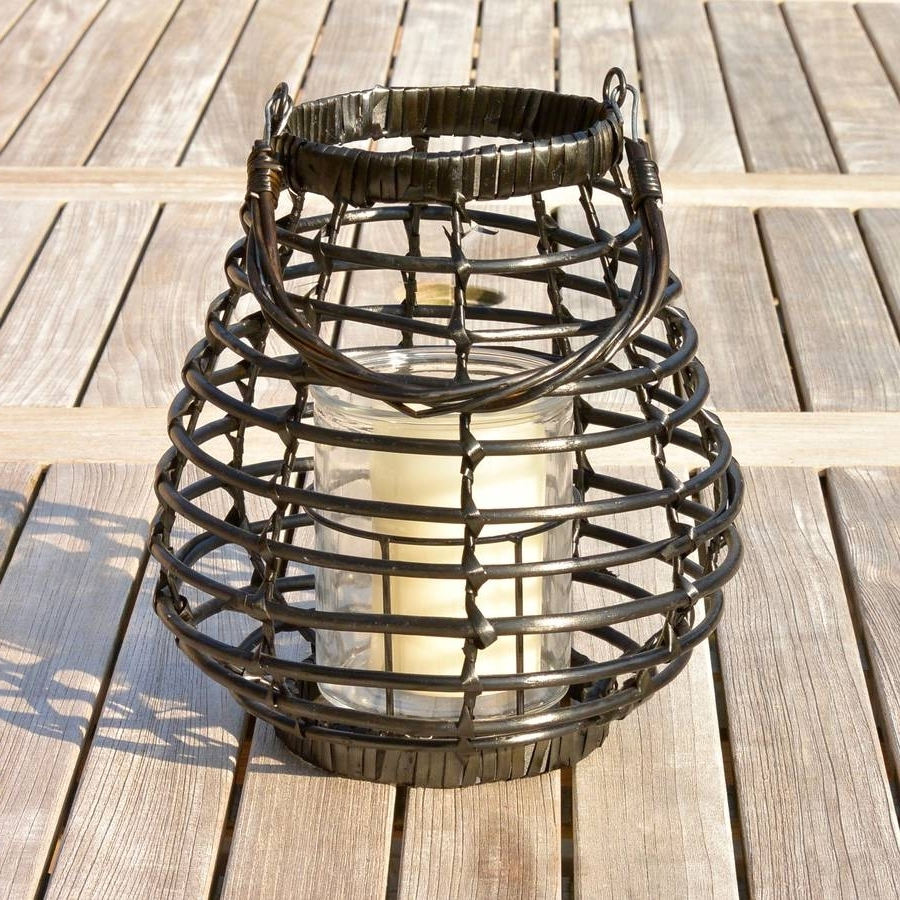 Rattan Outdoor Lanterns Ella James Within 2018 Outdoor Rattan Lanterns (Gallery 3 of 20)