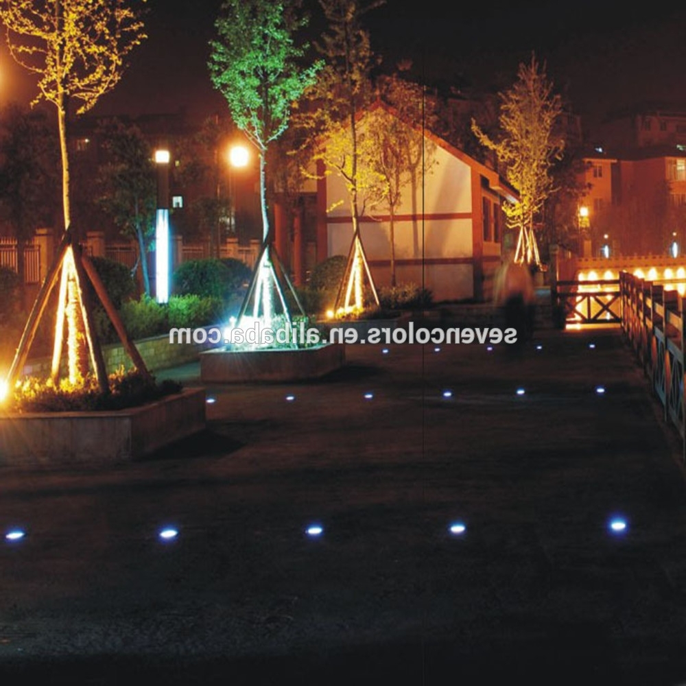 Recent Color Changing Outdoor Lights Low Voltage/ Led Lights In Concrete Intended For Outdoor Low Voltage Lanterns (View 6 of 20)