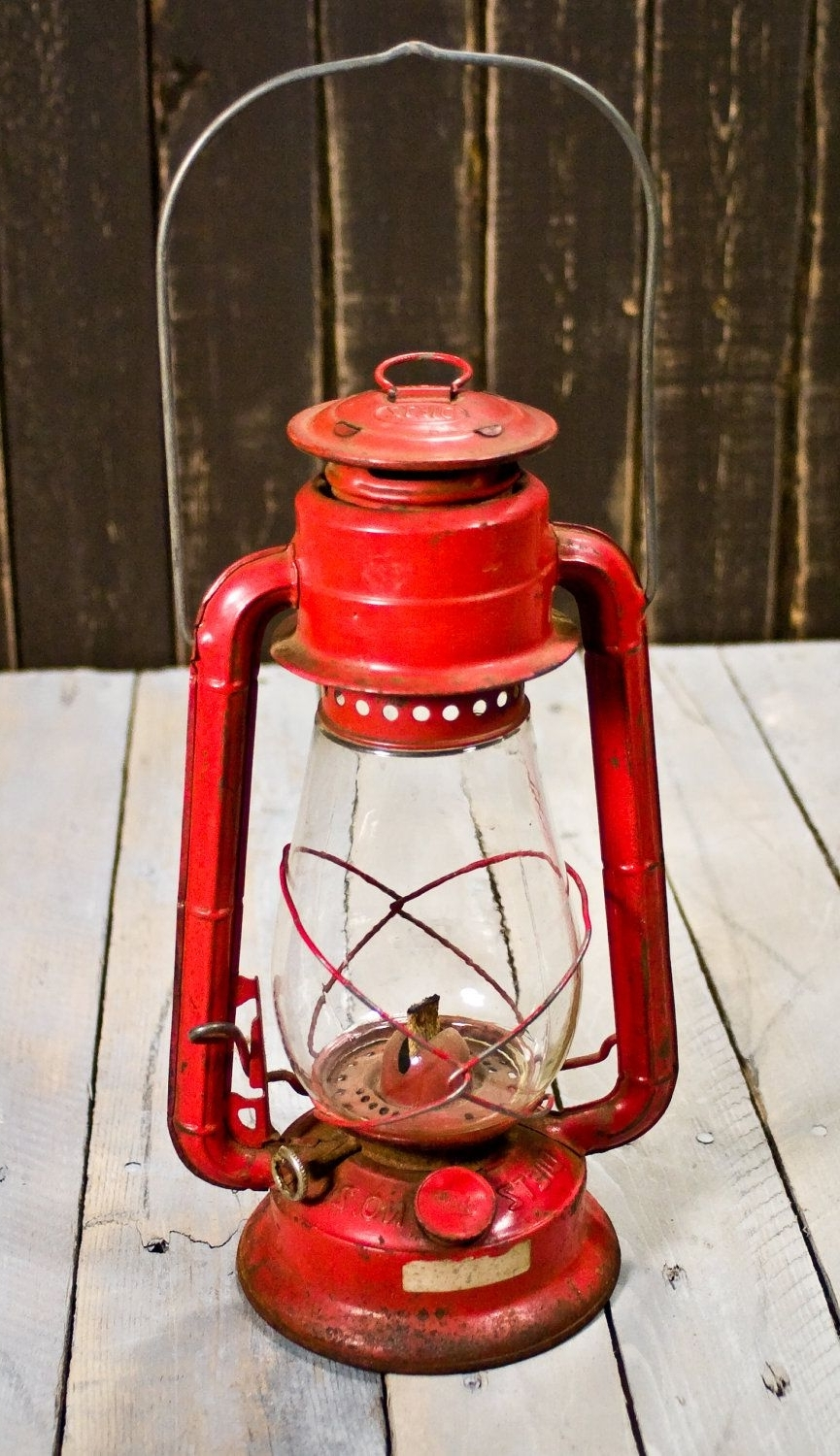 Recent Decorative Outdoor Kerosene Lanterns Regarding Vintage Lantern Dietz No (View 16 of 20)