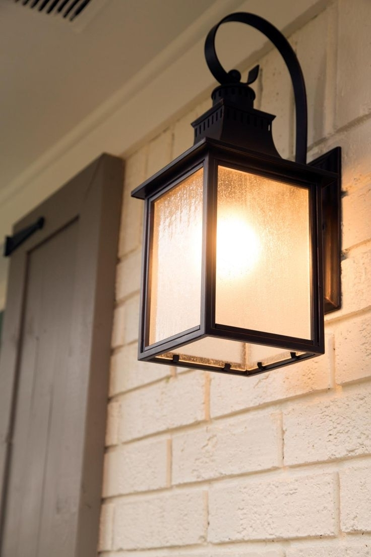 Recent Exterior Porch Lighting Decor Best 25 Ideas Using Outdoor Light For Outdoor Door Lanterns (Gallery 20 of 20)