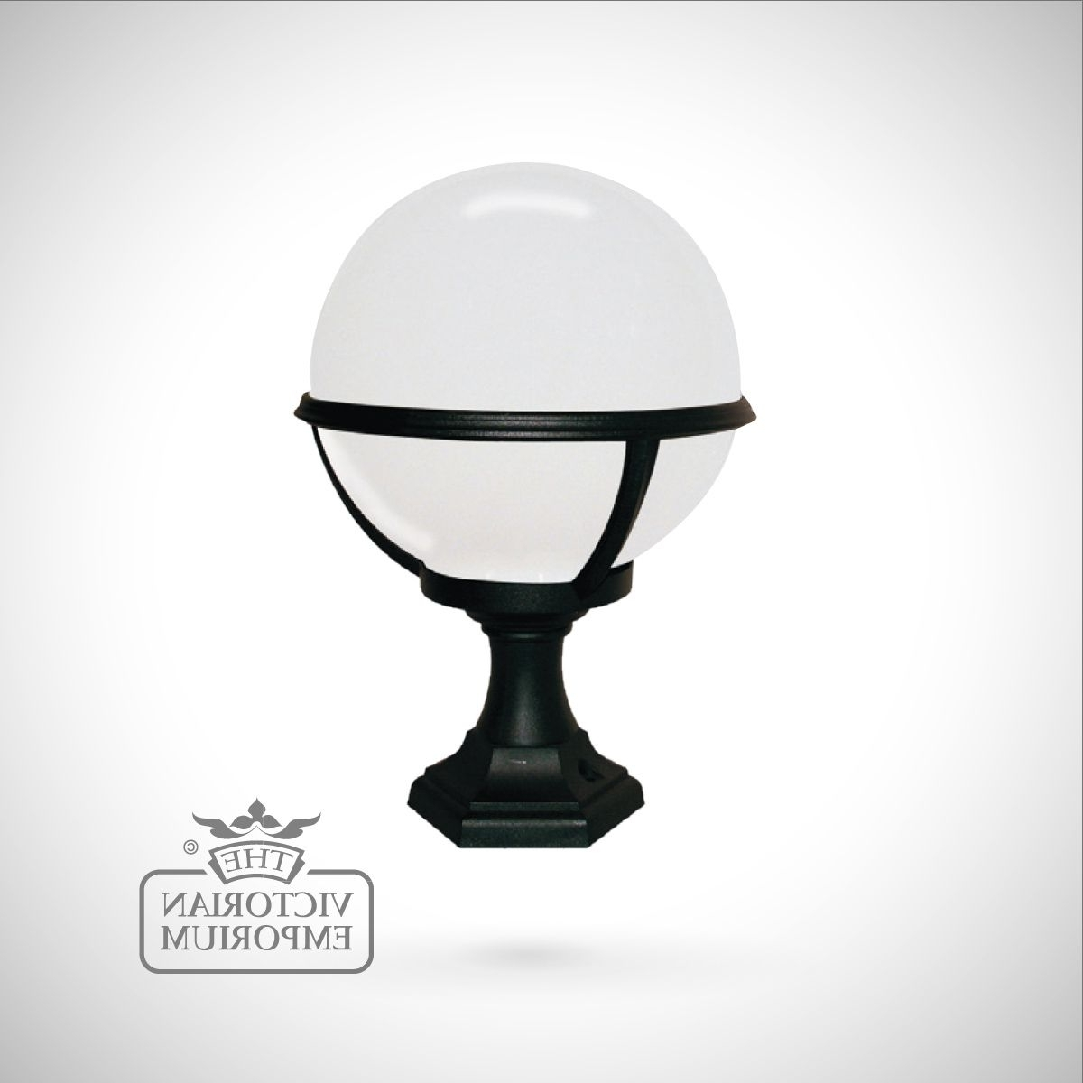 Recent Globe Pedestal/porch Lantern (View 14 of 20)