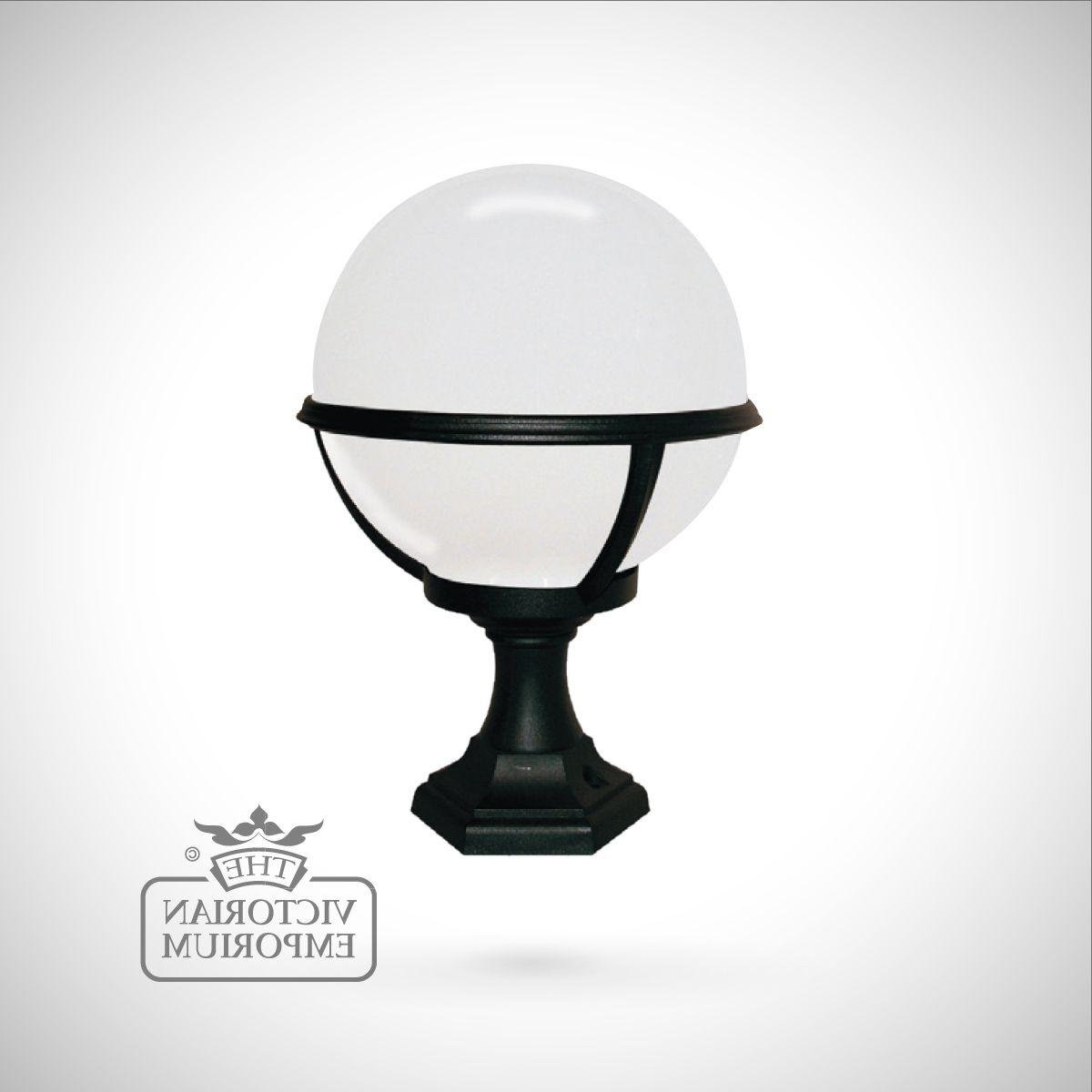 Recent Globe Pedestal/porch Lantern (View 9 of 20)