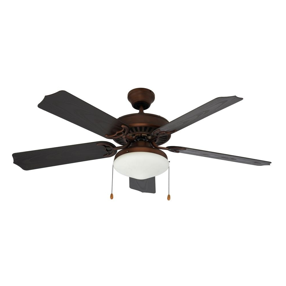 Recent Hurricane Outdoor Ceiling Fans In Hunter San Marco 52 In (View 3 of 20)