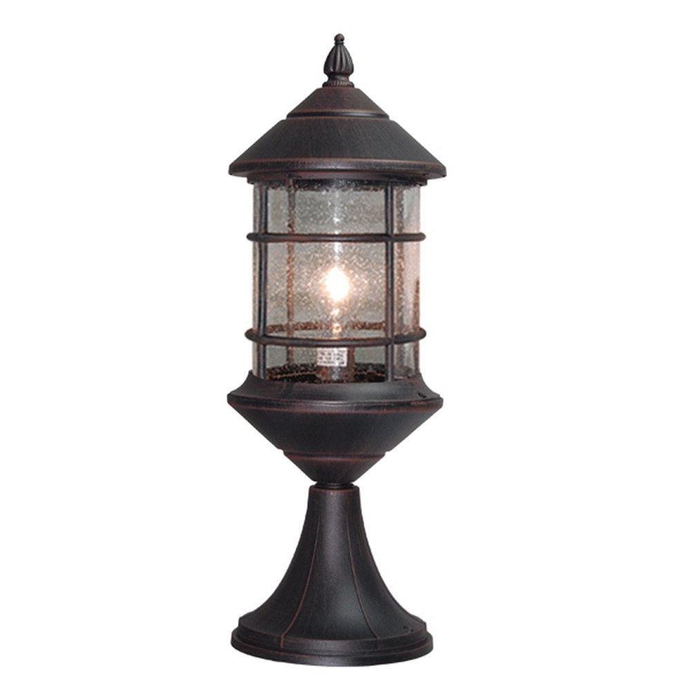 Recent Outdoor Lanterns For Pillars Pertaining To Interesting Outdoor Pillar Lights (View 15 of 20)