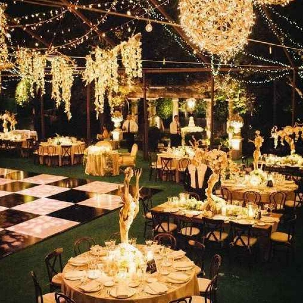 Recent Outdoor Lanterns For Wedding For 50 Awesome Outdoor Lighting Ideas For Wedding Light And Lighting (View 3 of 20)