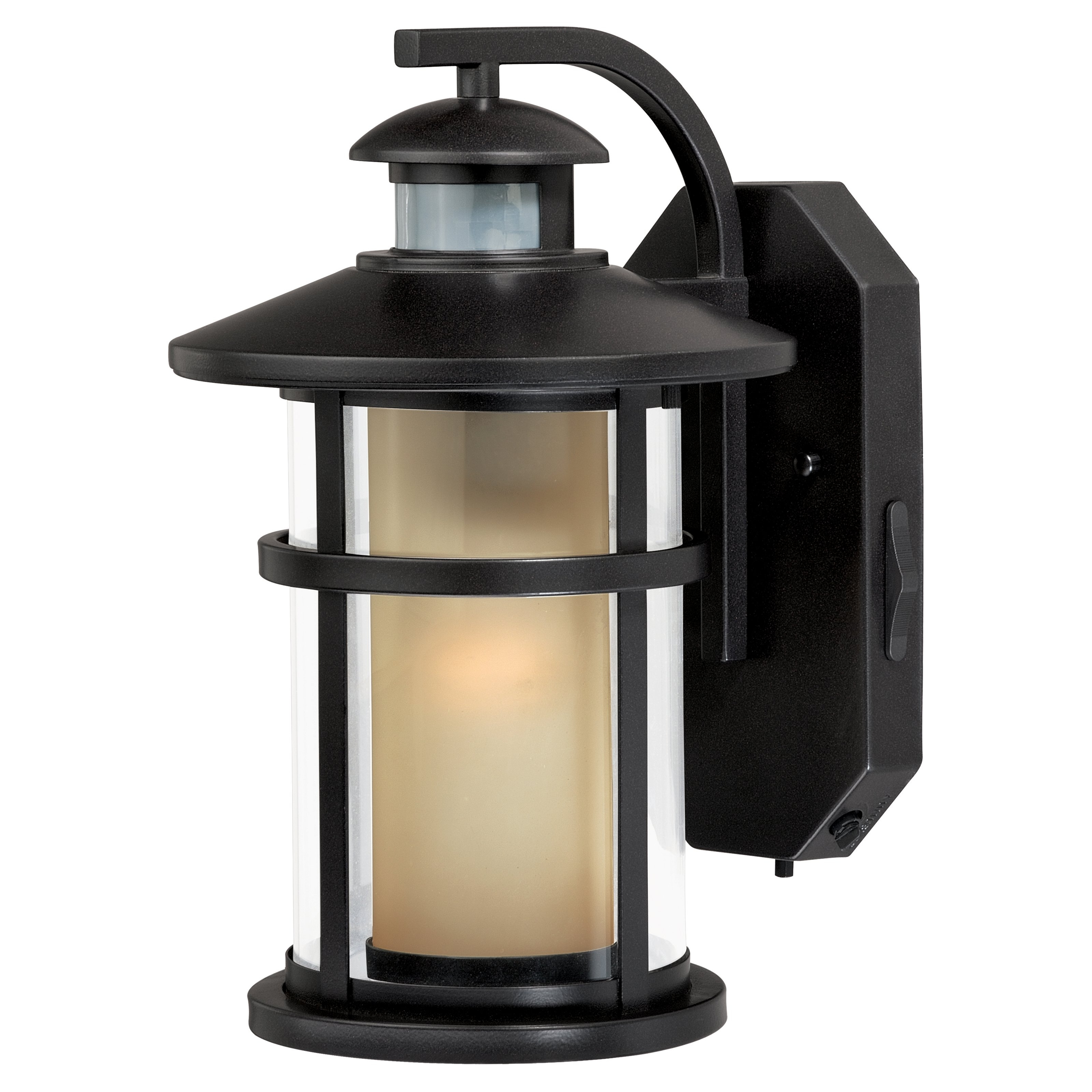 Recent Outdoor Motion Lanterns Intended For Vaxcel Cadiz T0128 Outdoor Motion Sensor Light (View 20 of 20)