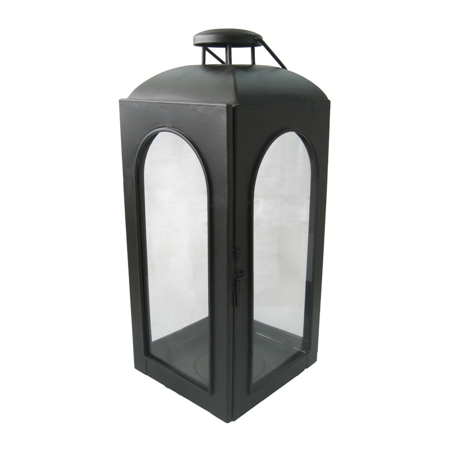 Recent Outdoor Pillar Lanterns In Shop Allen + Roth (View 17 of 20)