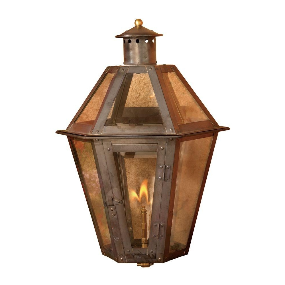 Recent Titan Lighting Grand Isle 23 In. Outdoor Washed Pewter Gas Wall Throughout Outdoor Gas Lanterns (Gallery 2 of 20)